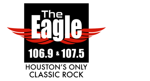 106.9 & 107.5 The Eagle - Houston's ONLY Classic Rock Logo