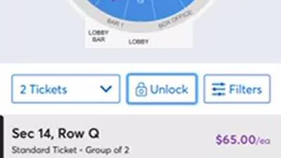 How to enter ticket code