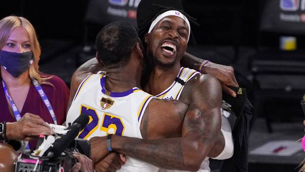 Photos: Los Angeles Lakers win record-tying 17th NBA title