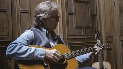 """Watch Eric Clapton performing """"Black Magic Woman"""" from his upcoming release 'The Lady in the Balcony'"""