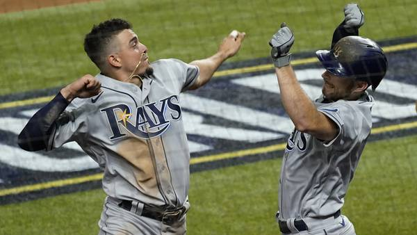 Photos: Rays top Dodgers 6-4 in World Series Game 2