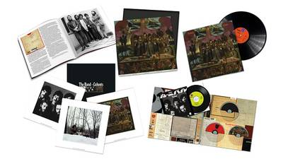 Expanded 50th anniversary reissue of The Band's fourth album, 'Cahoots,' due in December