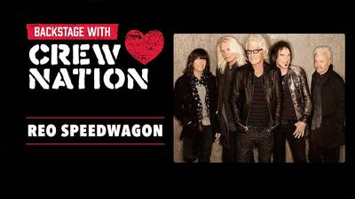 Meet REO Speedwagon's Production Manager: Video Premiere