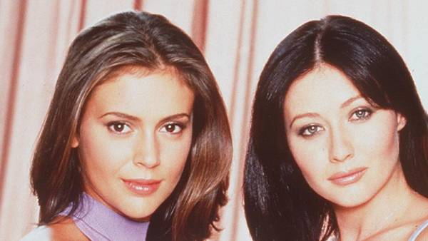 """Alyssa Milano says she and Shannen Doherty """"are cordial"""" now, opens up about their feud"""