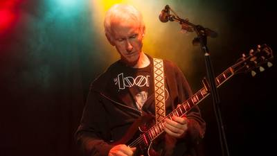 The Doors' Robby Krieger says he's finished two albums, including a reggae-influenced covers record