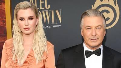 Ireland Baldwin supports dad Alec Baldwin on social media