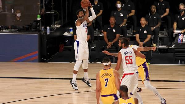 Photos: NBA season resumes
